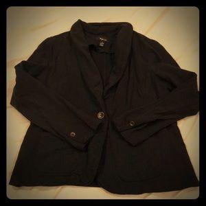 Style&Co Sweatshirt Blazer